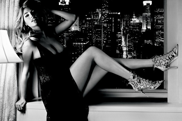 Kate Upton In Lingerie In New Black & White Photos | Daily Girls @ Female Update