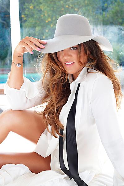 Khloe Kardashian Goes Pantless For Cosmopolitan