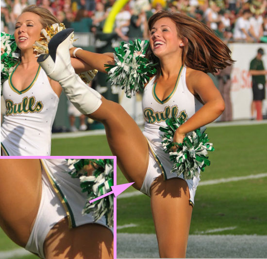 Kicking Cheerleader Upskirts | Daily Girls @ Female Update