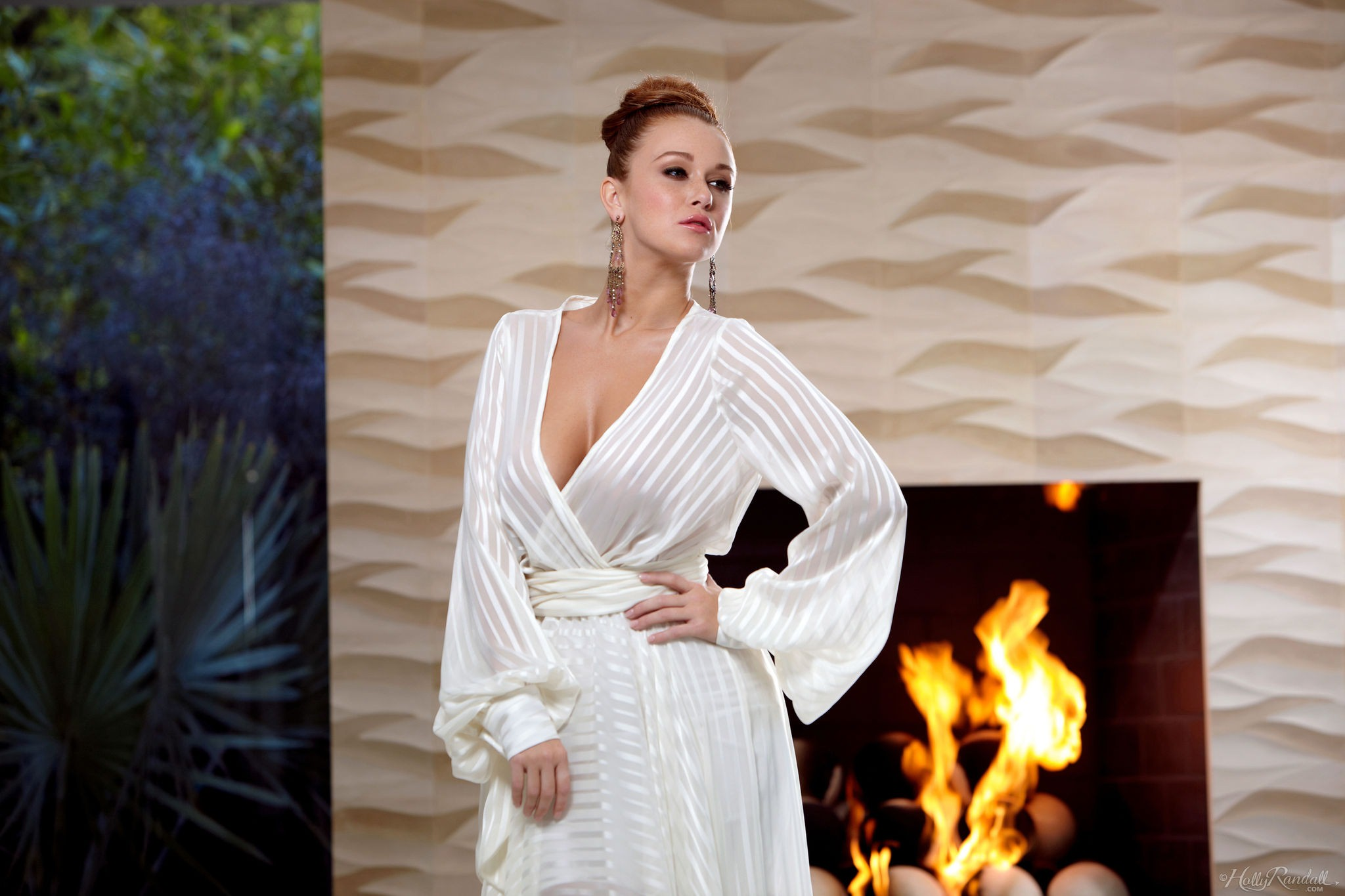 Leanna Decker is a Girl On Fire for Holly Randall | Daily Girls @ Female Update