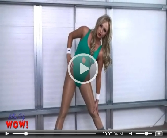 Leotard Workout on Pinup WOW | Daily Girls @ Female Update