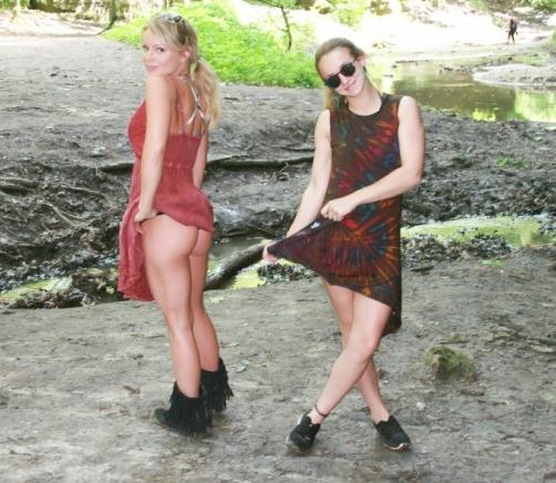 Meet Madden and her friend go hiking | Daily Girls @ Female Update