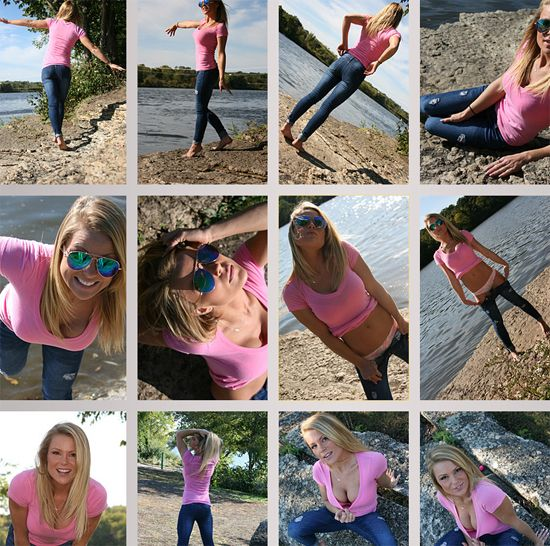 Meet Madden Galleries – Pink Tank, Tahoe and Fall | Daily Girls @ Female Update