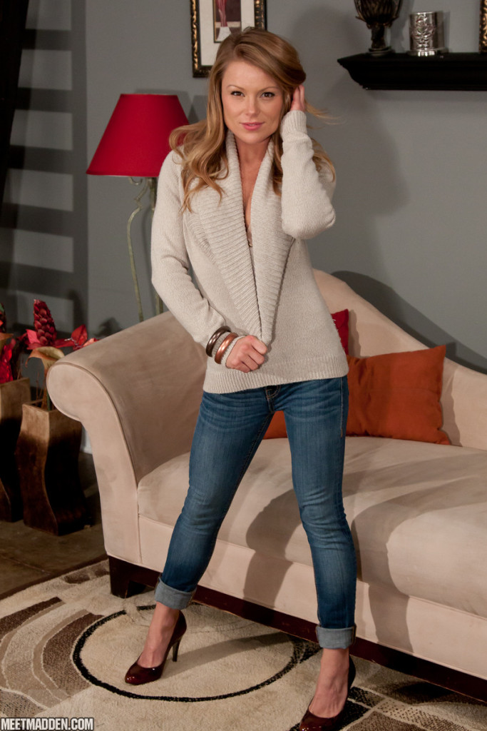 Meet Madden in Jeans and a Sweater | Daily Girls @ Female Update
