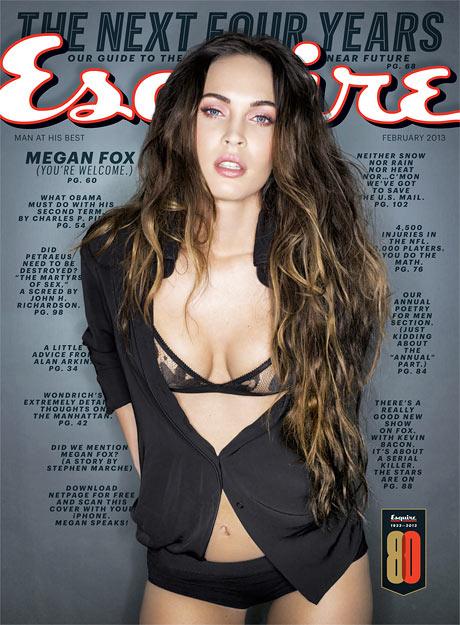 Megan Fox's new Esquire profile