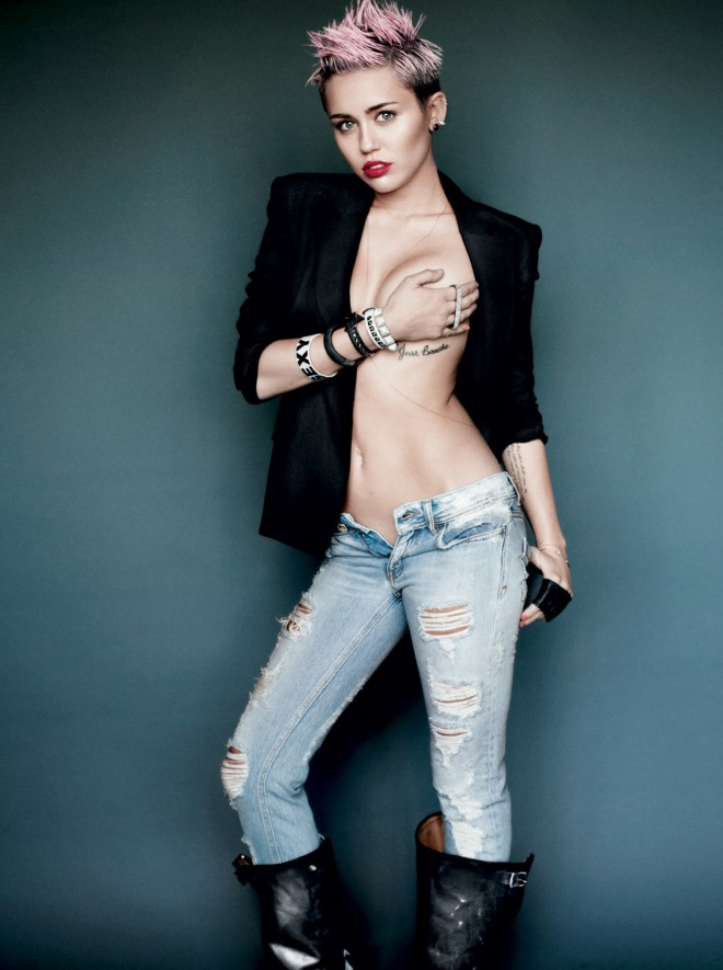 Miley's Raunchiest Photos Ever | Daily Girls @ Female Update