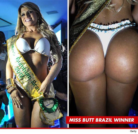Miss Butt Brazil Model — Andressa Gets Undressa' | Daily Girls @ Female Update