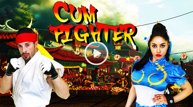New Arcade Video Game Porn Parody Cum Fighter | Daily Girls @ Female Update