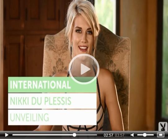 Nikki du Plessis on Playboy Plus | Daily Girls @ Female Update