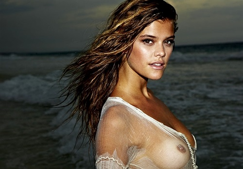 Nina Agdal Shows Her Breasts In See Thru Pics | Daily Girls @ Female Update