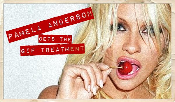 Pamela Anderson's Sexiest GIFs