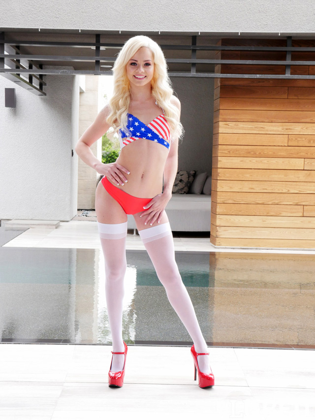 Pornstar Elsa Jean Memorial Day Sex | Daily Girls @ Female Update
