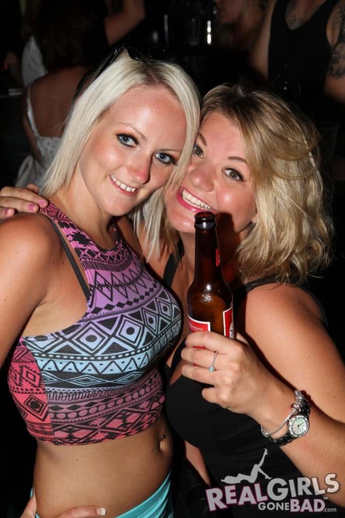 Real British Girls Get Drunk in a Club
