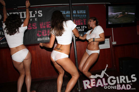Real Girls Gone Bad – Wet T-Shirt Contest
