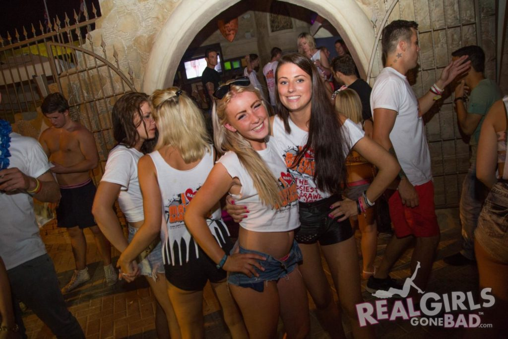 Real Girls on a Crazy Night in Ayia Napa