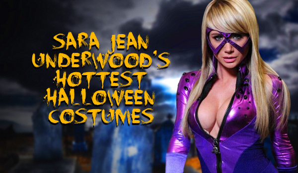 Sara Jean Underwood's Hottest Halloween Costum | Daily Girls @ Female Update