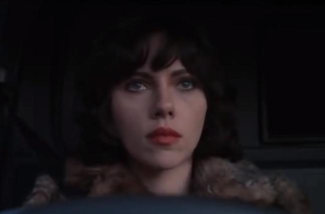 Scarlett Johansson Is An Alien In The Trailer