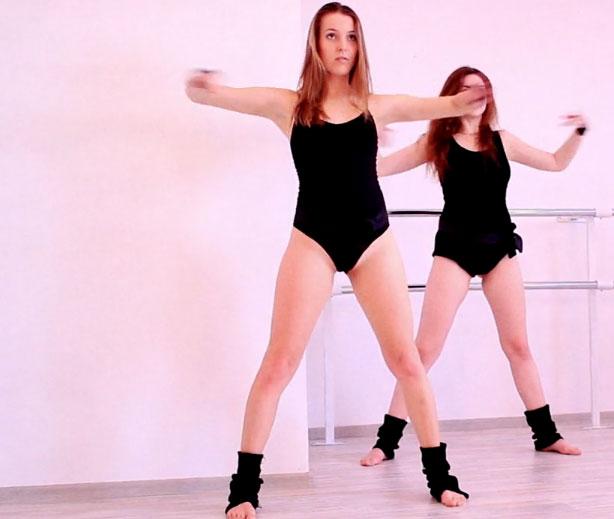Sexy Leotard Dance | Daily Girls @ Female Update