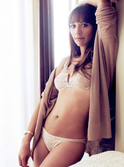 Sexy Rashida Jones Photos | Near-Nude | Daily Girls @ Female Update