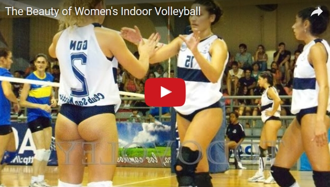 Sexy Volleyball Girls
