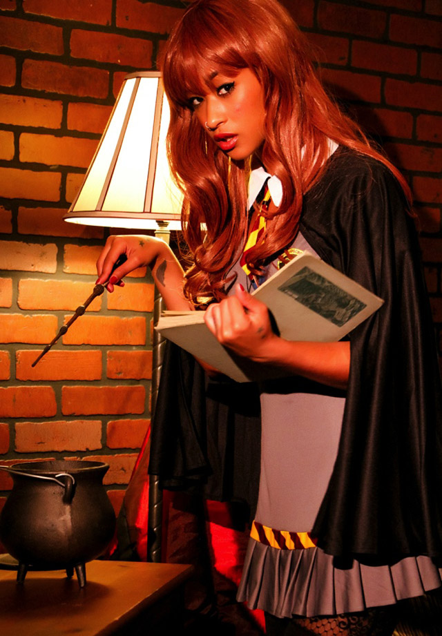 Skin Diamond as Harry Potter | Daily Girls @ Female Update