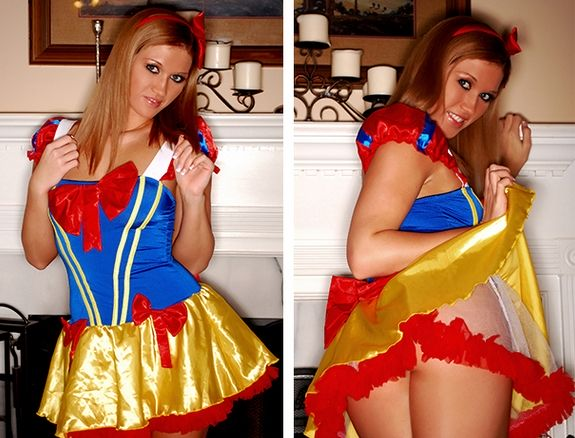 Spencer Nicks strips from a sexy princess outfit | Daily Girls @ Female Update