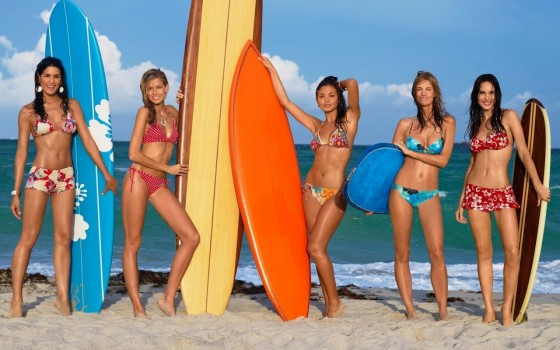 Sporty Ladies Celebrate Surfing Day | Daily Girls @ Female Update