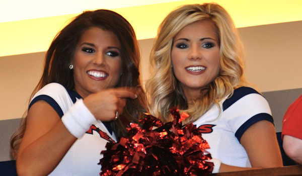 Texans Cheerleaders Dominate NFL Draft Party | Daily Girls @ Female Update
