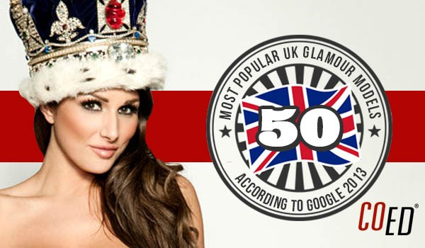 The 50 Most Popular British Glamour Models | Daily Girls @ Female Update