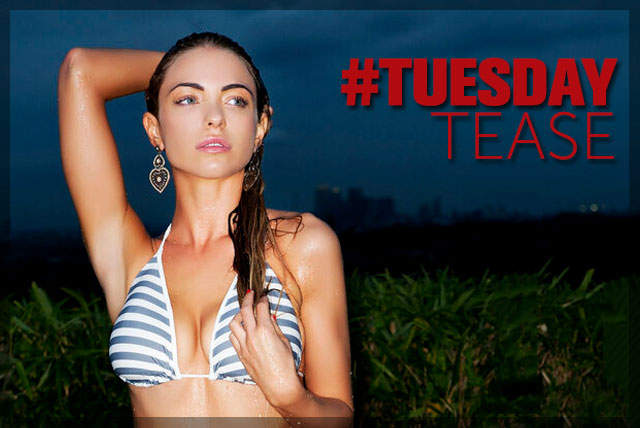 Tuesday Tease Is All for It | The Smoking Jacket | Daily Girls @ Female Update