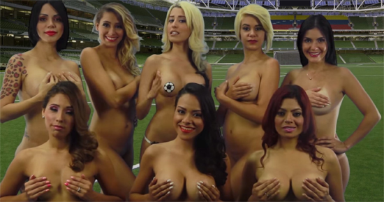 TV Presenters Nude for Copa America | Daily Girls @ Female Update