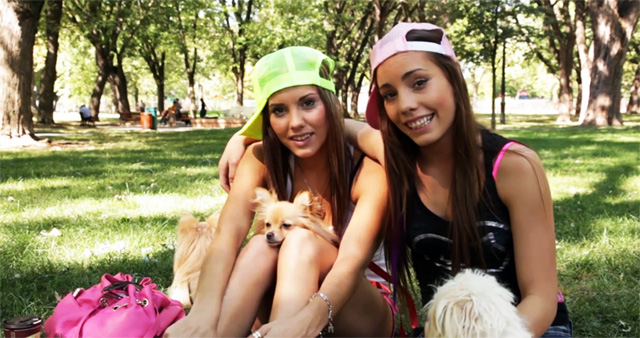Twin Sisters Roxy & Shana Lane | Daily Girls @ Female Update