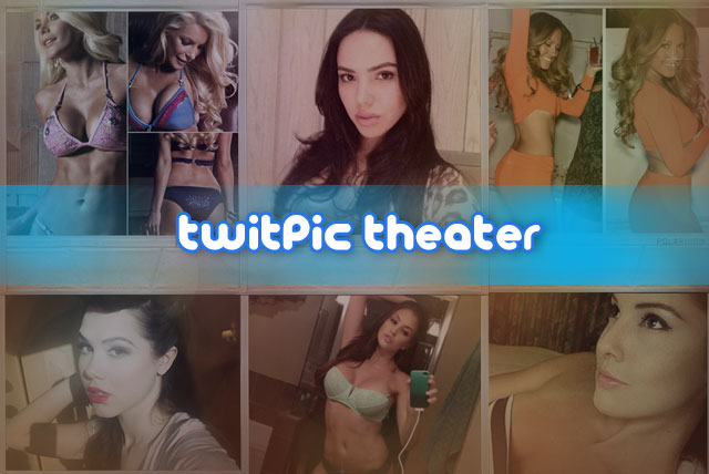 TwitPic Theater of Playmates' sexy selfies