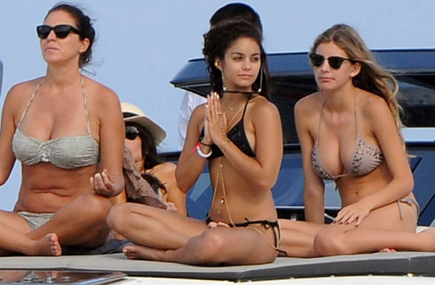 Vanessa Hudgens' Busty Friend In A Bikini | Daily Girls @ Female Update