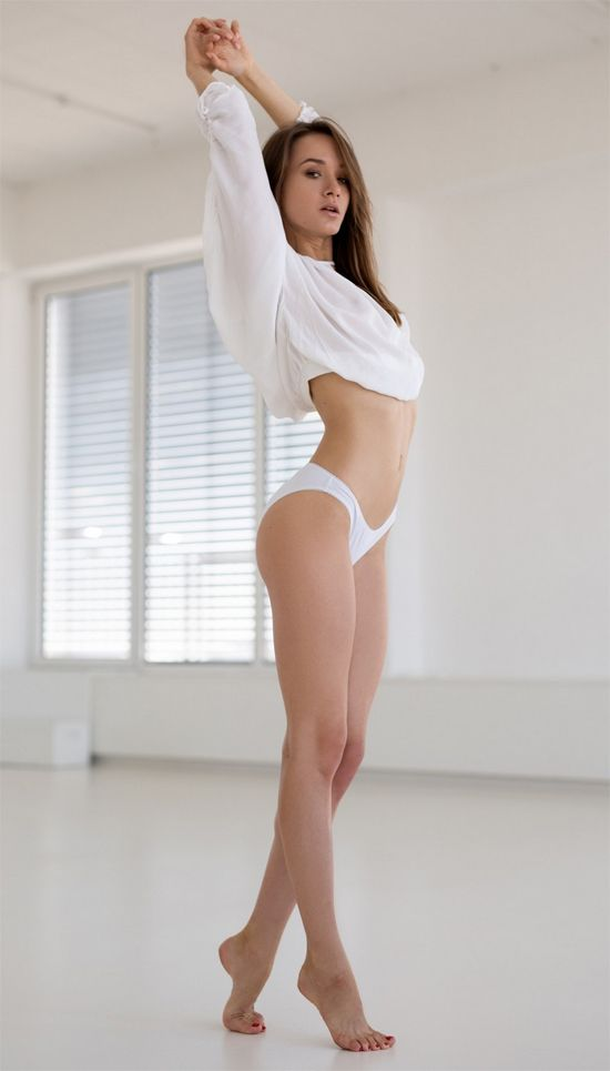 Vi Shy poses for Playboy in white panties | Daily Girls @ Female Update
