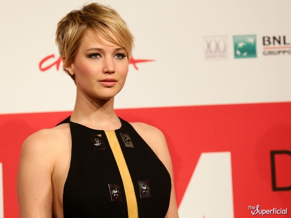 We've Got Jennifer Lawrence Side Boob