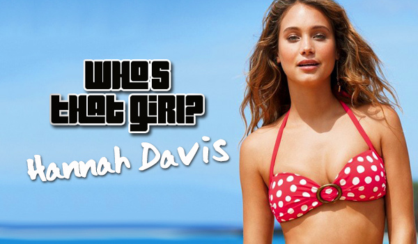 Who's That Girl: Hannah Davis, The DirecTV Genie | Daily Girls @ Female Update