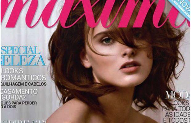 Zuzana Gregorova Looks Divine on Cover of Maxima | Daily Girls @ Female Update