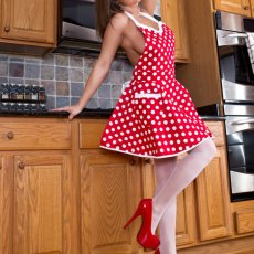 Nikki Sims in the Kitchen | Fun Girl Galleries | Daily Girls @ Female Update